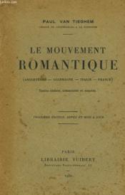 Le Mouvement Romantique (Angleterre, Allemagne, Italie, France) - Couverture - Format classique