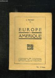 Europe Et Amerique. - Couverture - Format classique