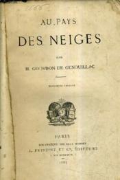 Au Pays Des Neiges / 3e Edition. - Couverture - Format classique