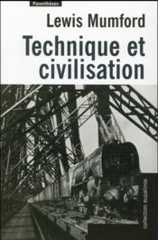 Technique et civilisation - Couverture - Format classique