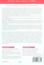 La compensation multilaterale. volume 59 - 4ème de couverture - Format classique