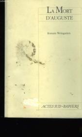 La Mort D'Auguste - Couverture - Format classique