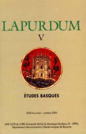 Revue Lapurdum N.5 - Couverture - Format classique