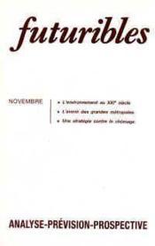 Futuribles N.115 Novembre 1987 - Couverture - Format classique