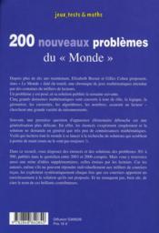 200 nouveaux problèmes du