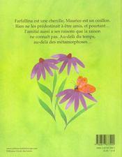 Farfallina Et Maurice - 4ème de couverture - Format classique