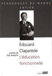 L'éducation fonctionnelle - Couverture - Format classique