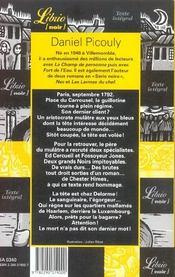 Tete De Negre - 4ème de couverture - Format classique