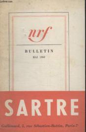Bulletin Mai 1960 N°149. - Couverture - Format classique