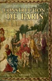 Construction De Paris. - Couverture - Format classique