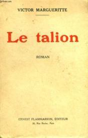 Le Talion. - Couverture - Format classique