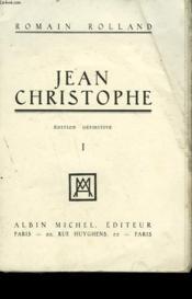 Jean Christophe. Tome 1. - Couverture - Format classique