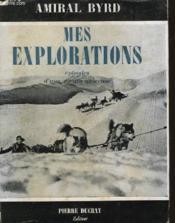 Mes Explorations - Episodes D'Une Vie Aventureuse - Couverture - Format classique