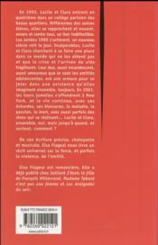 Les mijaurées - 4ème de couverture - Format classique