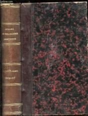 Annales De Philosophie Chretienne : Tome 3 (153 Eme De La Collection) : Octobre 1906-Mars1907 - Revue Mensuelle. Quatrieme Serie. - Couverture - Format classique