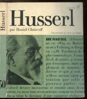 Husserl Ou Le Retour Aux Choses - Collection Philiosophes De Tous Les Temps N°30 - Couverture - Format classique