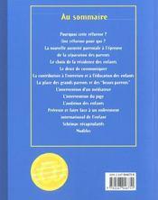Les Nouveaux Droits Du Père Après La Loi Du 4 Mars 2002 Réformant L'Autorité Parentale - 4ème de couverture - Format classique