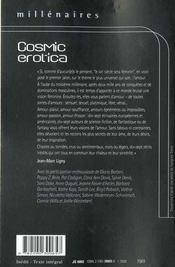 Cosmic erotica - - une anthologie - 4ème de couverture - Format classique