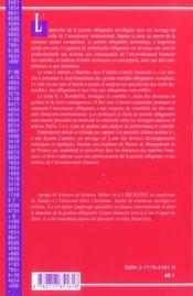 Gestion Obligataire T.2 : Rentabilite, Strategies Et Controle (2e Edition) - 4ème de couverture - Format classique