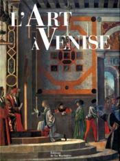 Art A Venise (L') - Couverture - Format classique