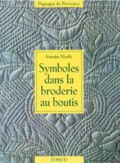 Symboles dans la broderie au boutis - Couverture - Format classique