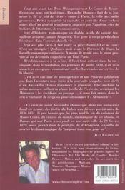 Alexandre dumas a la conquete de paris - 4ème de couverture - Format classique