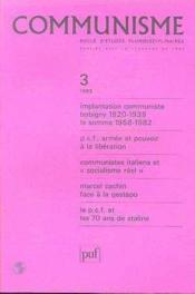 C3 Communisme 1983 - Couverture - Format classique