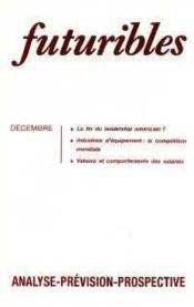 Futuribles N.116 Decembre 1987 - Couverture - Format classique