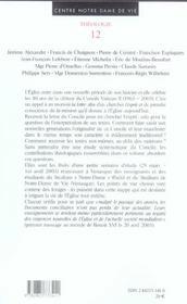 Vatican ii de la lettre a l'esprit, une mission - 4ème de couverture - Format classique
