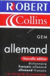 Gem allemand - Couverture - Format classique