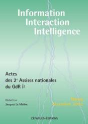 Actes de 2e assises nationales du GdR i3 ; Nancy, decembre 2002 - Couverture - Format classique