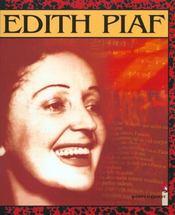 Chansons en bd t.4 ; edith piaf en bd - Intérieur - Format classique