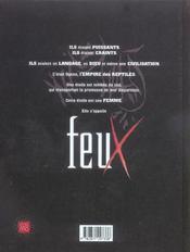 Feux t.1 ; fille des reptiles - 4ème de couverture - Format classique