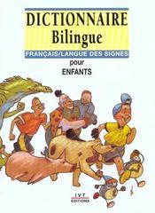 Dictionnaire bilingue français/langue des signes pour enfants - Intérieur - Format classique