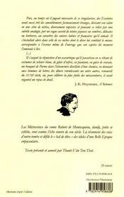 Les pas effacés ; mémoires t.2 - 4ème de couverture - Format classique