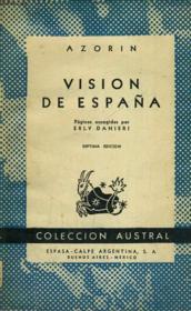 Vision De Espana - Couverture - Format classique