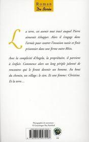 Le voyage de Pierre Angibaud - 4ème de couverture - Format classique