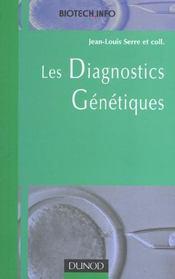 Les diagnostics genetiques - Intérieur - Format classique