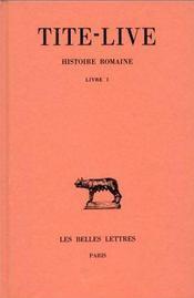 Histoire romaine t.1 - Intérieur - Format classique