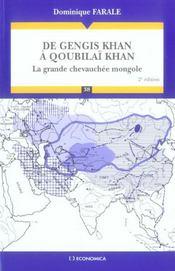 De gengis khan a qoubilai khan ; la grande chevauchee mongole (2e edition) - Intérieur - Format classique