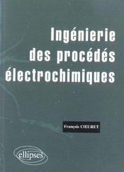 Ingenierie Des Procedes Electrochimiques - Intérieur - Format classique