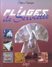 Pliages de serviettes - Intérieur - Format classique