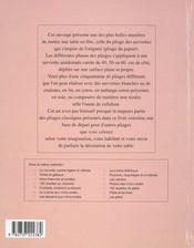 Pliages de serviettes - 4ème de couverture - Format classique