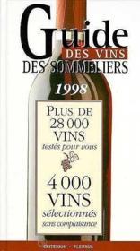 Guide des vins des sommeliers - Couverture - Format classique