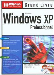 Grand Livre Windows Xp Pro. - Intérieur - Format classique