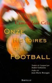 Onze histoires de football - Couverture - Format classique