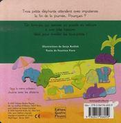 Jouons avec les éléphants - 4ème de couverture - Format classique