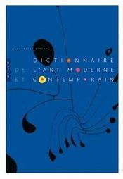 Dictionnaire de l'art moderne et contemporain - Intérieur - Format classique