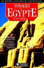 Grandes aventures de l'archeologie - voyages en egypte et en nubie (les) - Couverture - Format classique
