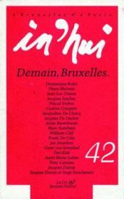 In'Hui N.42 ; Demain, Bruxelles - Couverture - Format classique